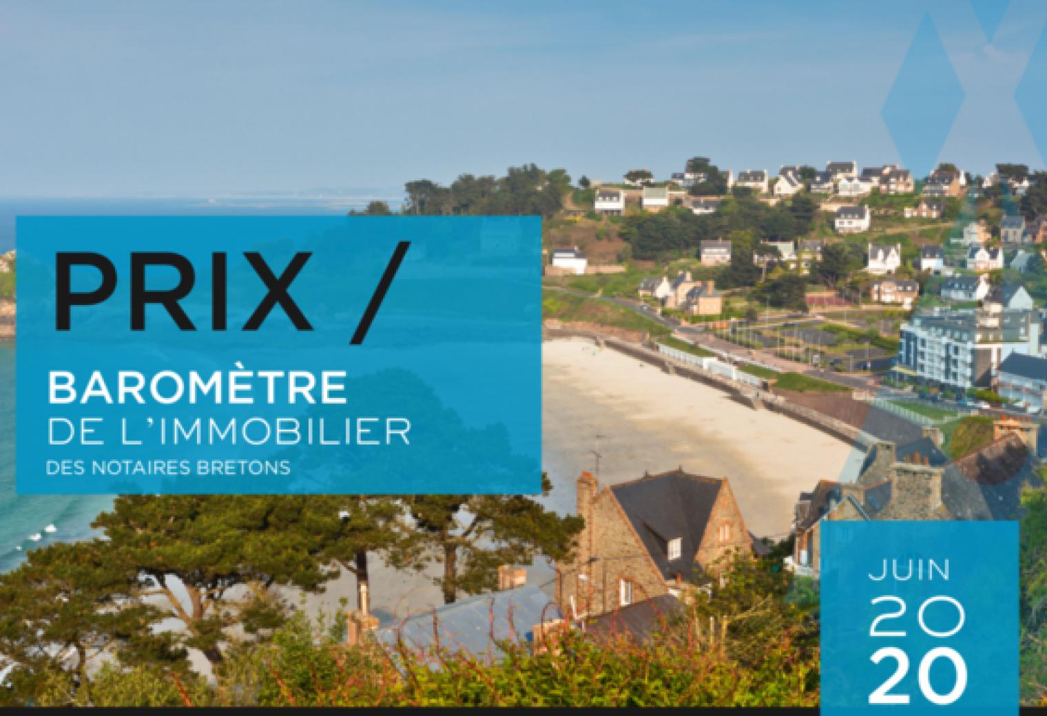 BAROMÈTRE DE L'IMMOBILIER   JUIN 32   Notaire & Breton
