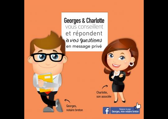 Georges et Charlotte, notaires bretons